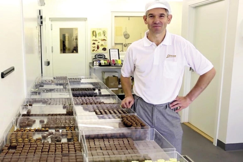 Håndlavet chokolade fra eget værksted