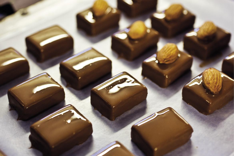 Produktion af belgisk chokolade