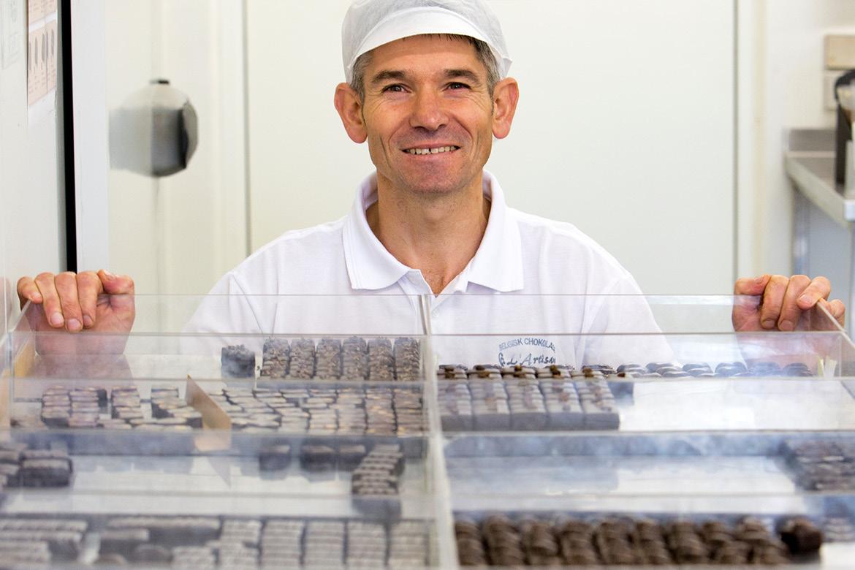 Chocolatier Rik Ryckeboer