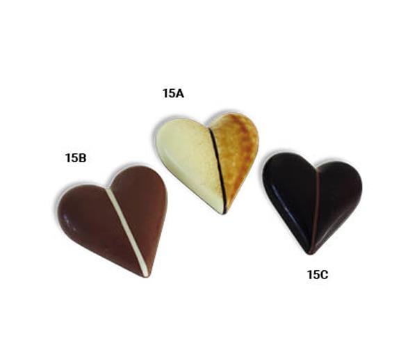 Chokoladehjerter